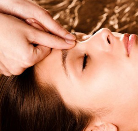 Deep Tissue Facial Massage